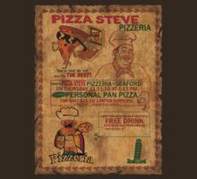 Pizza Steve Pizzeria  by lunabluelion