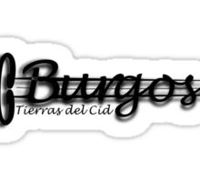Burgos Tierras del Cid Sticker