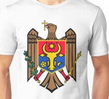 Moldova | Europe Stickers | SteezeFactory.com Unisex T-Shirt