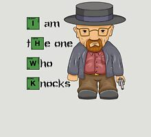 """""""I am the one who knocks!!"""" Walter White - Breaking Bad T-Shirt"""