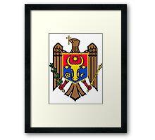 Moldova | Europe Stickers | SteezeFactory.com Framed Print