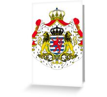 Luxembourg | Europe Stickers | SteezeFactory.com Greeting Card