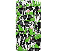 SPLASHYARTYSTORY - ALL ABOUT COWS iPhone Case/Skin