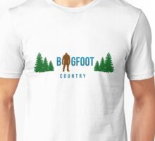 Bigfoot Country  Unisex T-Shirt