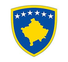 Kosovo | Europe Stickers | SteezeFactory.com Photographic Print