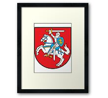 Lithuania UNTOUCHED | Europe Stickers | SteezeFactory.com Framed Print