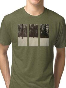 Tree Rectangles Tri-blend T-Shirt