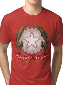 Italy UNTOUCHED | Europe Stickers | SteezeFactory.com Tri-blend T-Shirt