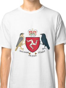 Isle of Man | Europe Stickers | SteezeFactory.com Classic T-Shirt