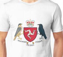 Isle of Man | Europe Stickers | SteezeFactory.com Unisex T-Shirt