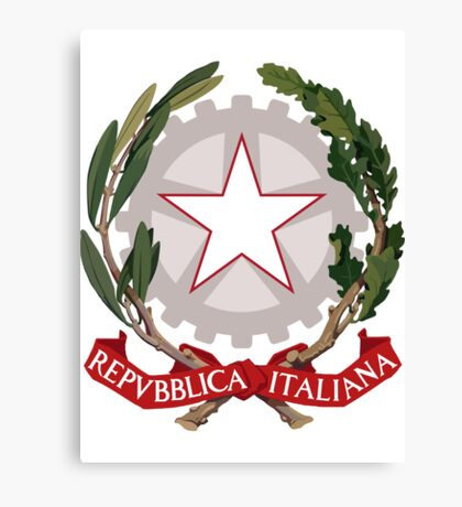 Italy UNTOUCHED | Europe Stickers | SteezeFactory.com Canvas Print