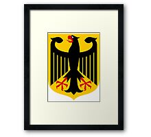 Germany   Europe Stickers   SteezeFactory.com Framed Print