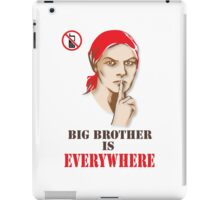 Big Brother is everywhere iPad Case/Skin