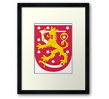 Finland | Europe Stickers | SteezeFactory.com Framed Print
