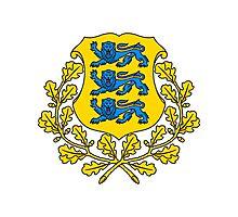 Estonia | Europe Stickers | SteezeFactory.com Photographic Print