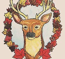 deer, oh deer by tamaghosti