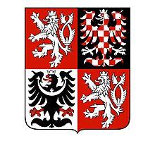 Czech Republic RED BLACK   Europe Stickers   SteezeFactory.com Photographic Print