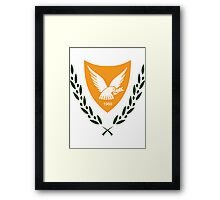 Cyprus | Europe Stickers | SteezeFactory.com Framed Print