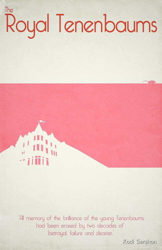 The Royal Tenenbaums - Wes Anderson by Kodi  Sershon