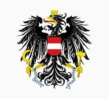 Austria | Europe Stickers | SteezeFactory.com Unisex T-Shirt
