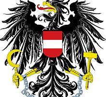 Austria | Europe Stickers | SteezeFactory.com by FreshThreadShop