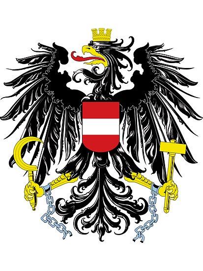 Austria   Europe Stickers   SteezeFactory.com by FreshThreadShop