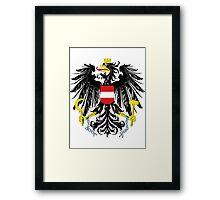 Austria | Europe Stickers | SteezeFactory.com Framed Print