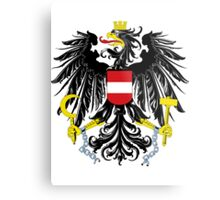 Austria | Europe Stickers | SteezeFactory.com Metal Print