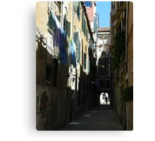 Giuffa e Calle dell'Arco Canvas Print