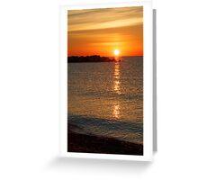 Kenosha Sunrise Greeting Card