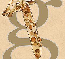 G is for GIRAFFE by busymockingbird