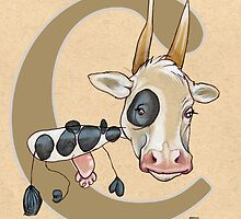 C is for COW by busymockingbird