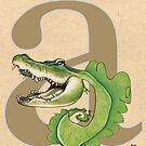 A is for ALLIGATOR by busymockingbird
