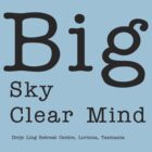 Big Sky Clear Mind - for light backgrounds by tashicholing