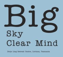 Big Sky Clear Mind - for light backgrounds T-Shirt