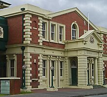 Surpeme Court Building, Launceston, Tasmania, Australia by Margaret  Hyde