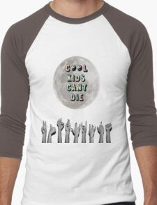 Cool Kids Can't Die Men's Baseball ¾ T-Shirt