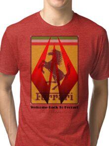 Welcome Back To Ferrari Iceman Tri-blend T-Shirt