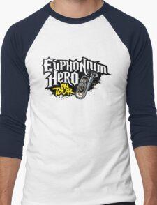 Euphonium Hero on Tour Men's Baseball ¾ T-Shirt