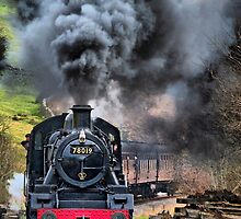 78019 Steam Train by karlwilsonphoto