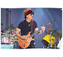 Carlos Santana @ Deni Poster