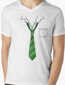 Slytherin Slack Formal Mens V-Neck T-Shirt