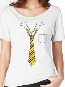 Hufflepuff Slack Formal Women's Relaxed Fit T-Shirt