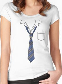 Ravenclaw Slack Formal (Book Colours) Women's Fitted Scoop T-Shirt
