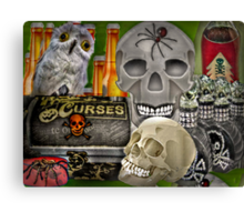 Ingredients for a Witch's Brew Canvas Print