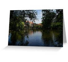 A Glimpse Through the Trees - Bruges, Belgium Greeting Card