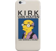 Kirk Van Houten - Can I Borrow a Feeling Album Cover iPhone Case/Skin