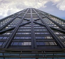 The John Hancock Tower - Chicago by Sandro Rossi