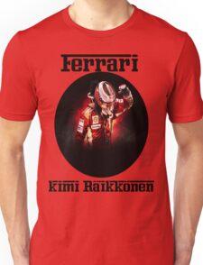 Ferrari: Kimi Räikkönen Unisex T-Shirt