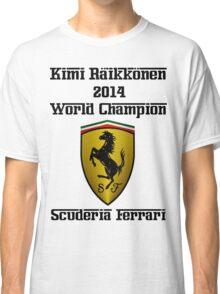 Kimi Raikkonen World Champion 2014 Classic T-Shirt
